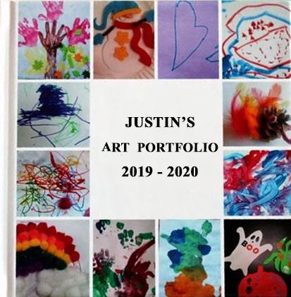 Child's Art Portfolio Book